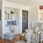 farmhouse style living room simple cottage decor with