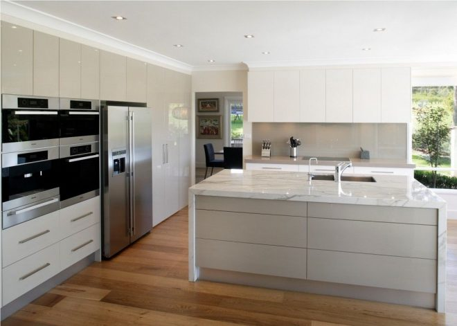 fascinating kitchen design picture features modern large white