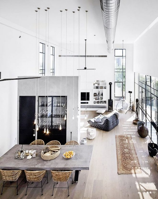 feel inspired with these new york industrial lofts loft