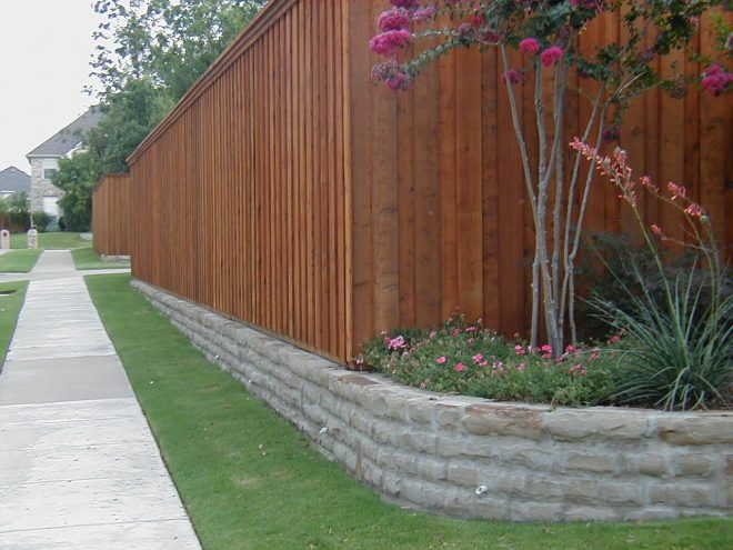 fence and retaining wall in 2019 retaining wall fence diy