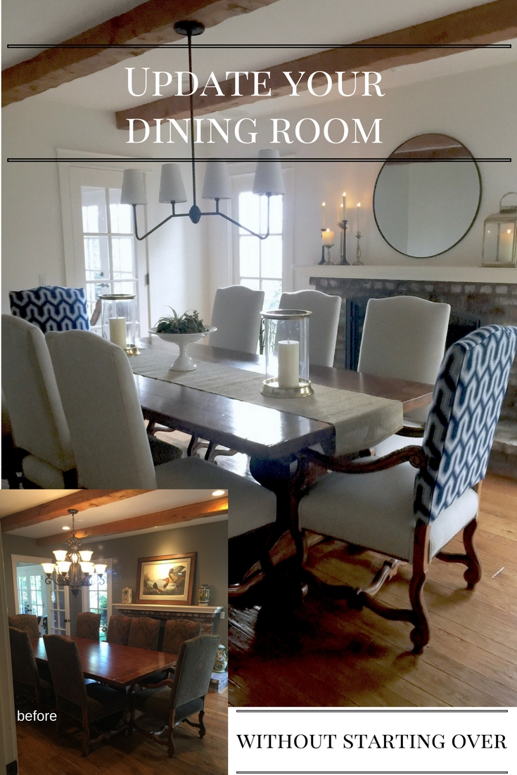 five steps for an updated dining room classic casual home