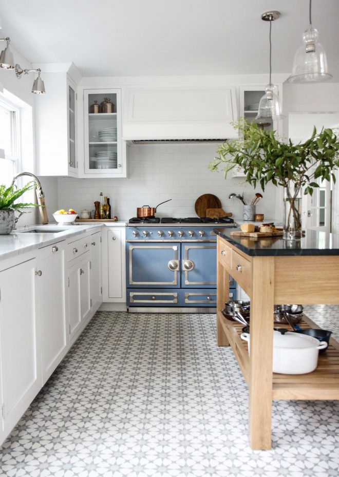 flooring ideas staggering cork flooring in the kitchen pros and