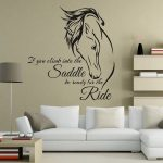 for room bedroom decor wall art decoration horse riding wall stickers removable wallpaper sticker art for walls sticker decals for walls from