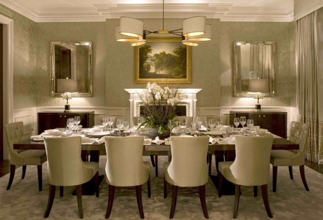 formal dining room ideas sparkle glass top rectangle table