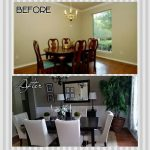 formal dining room makeover on a budget dining room wall