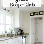 framed recipe cards diy projects for the home home decor kitchen