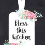 free printable farmhouse kitchen wall art collection the cottage
