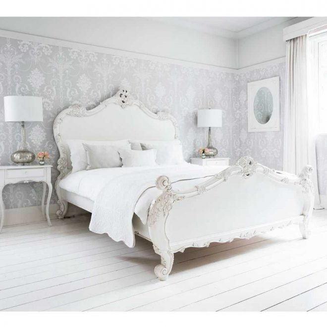 french bed provencal sassy white double bed brilliant