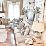 french country living room with leather sofa decorating