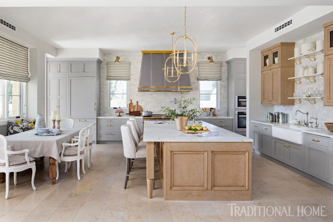 french style inspires a modern kitchen traditional home
