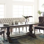 french tufted upholstered dining bench banquette popayan