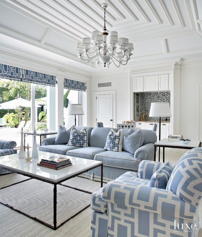fridays favourites living rooms to live in blue white