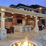 friendswood outdoor living space texas custom patios patio plan