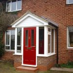 front door porch designs house ideas small uk brick oak front