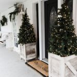 front porch rustic country farmhouse decoration winter