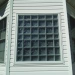 frosted glass block bathroom window with protect all process carroll