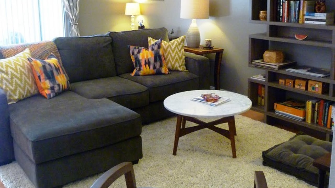 furniture arranging for small living rooms youtube