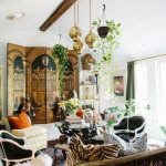 furniture entryway eclectic chic living room decor