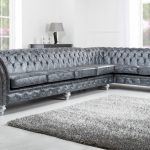 furniture immaculate grey leather sofa for modern living room