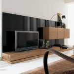 furniture modern italian style living room wall tv unit in