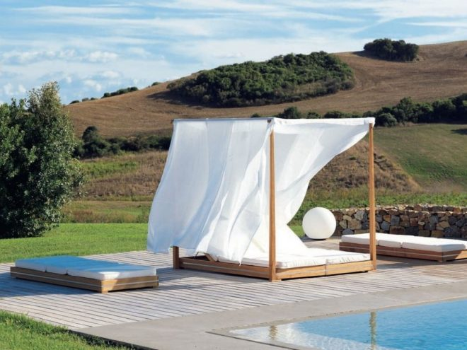 furniture patio day bed outdoor daybed with canopy