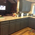 furniture stylish and cool gray kitchen cabinets for your