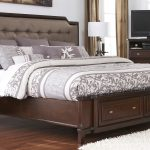 furniture white wooden bed with headboard shelf and