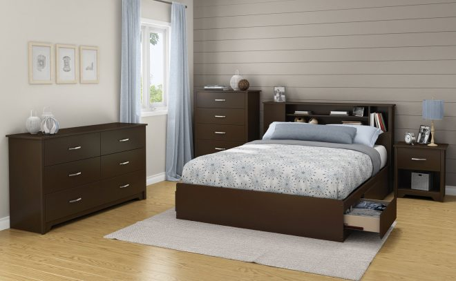fusion queen storage platform bed home queen platform