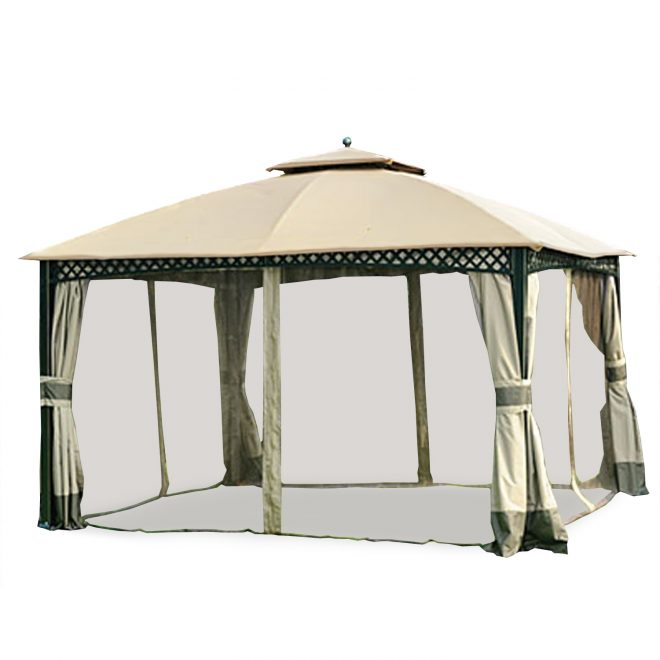 garden winds replacement canopy top for windsor dome gazebo riplock 350