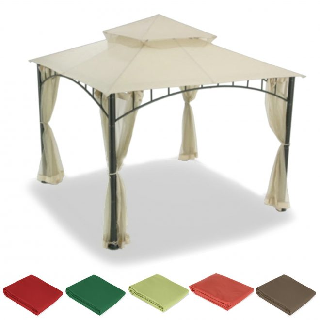 gazebo replacement canopy top cover sunjoy garden winds