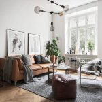 get the look 10 ways to style a tan leather sofa alphabet