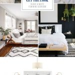 get the look black white feminine bedroom feminine