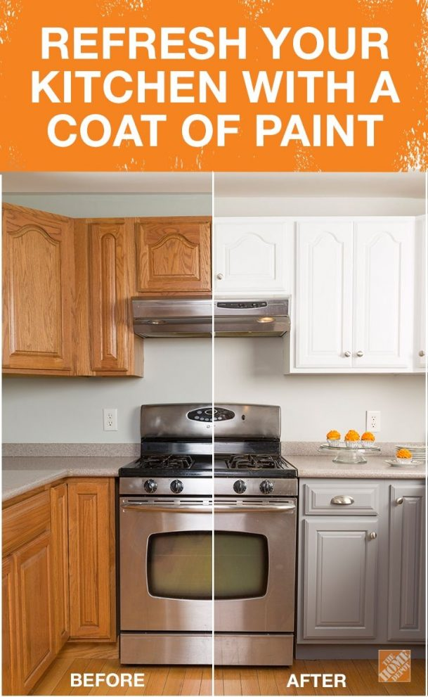 get the look of new kitchen cabinets the easy way small