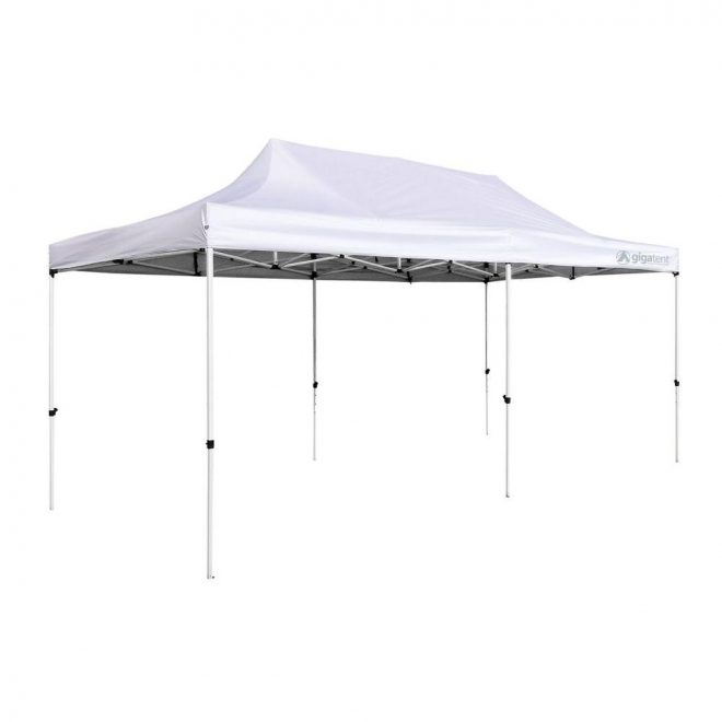 gigatent party tent 10 ft x 20 ft white canopy
