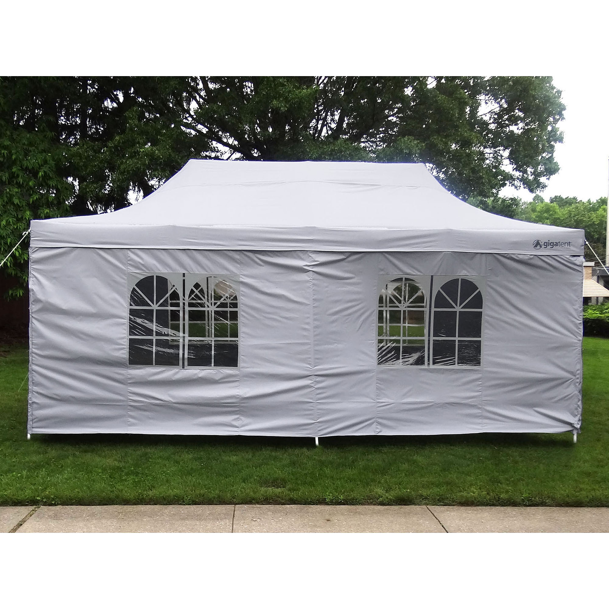 gigatent the party tent deluxe 10 x 20 canopy white walmart