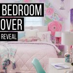 girls bedroom makeover reveal home decor youtube
