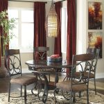 glambrey dining room table brown with glambrey dining room