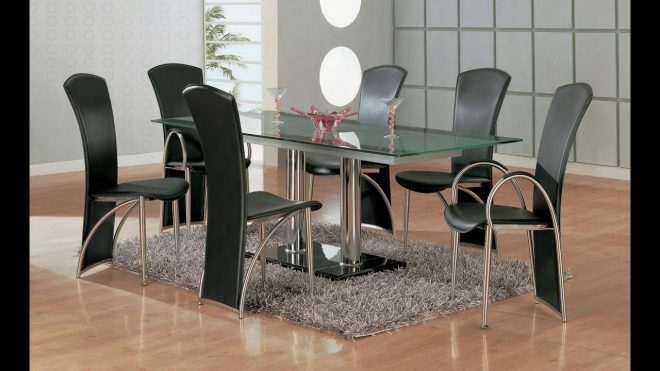 glass dining table design 2019 glass dining table set 2019