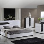 global furniture hudson 4 piece platform bedroom set in zebra grey