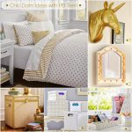 gold and white bedroom bedroom ideas