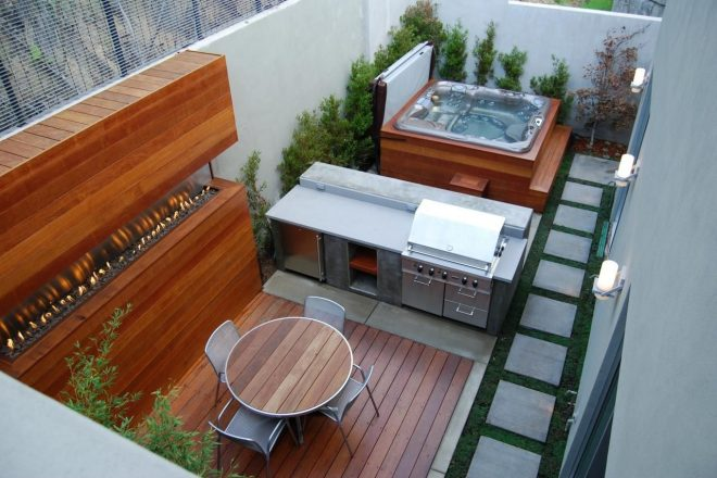 gorgeous decks and patios with hot tubs diy deck building
