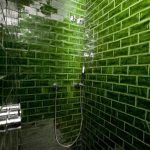 gorgeous green tiled shower hotel praktik rambla green envy
