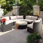 gorgeous wicker sectional patio furniture outdoor sectional