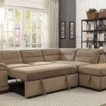 gorski right hand facing sleeper sectional with ottoman