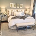 gray and white master bedroom elegant neutral bedroom