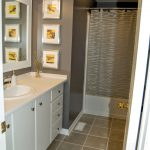 gray bathroom with yellow accents grayyellow yellow