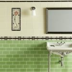 green wall tiles for bathroom traditional classic tile ideas