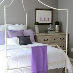 grey bedroom ideas mixing lilac and grey in an updated bedroom