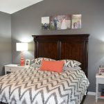 grey room with coral google search home guest bedrooms