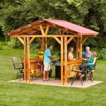 grill gazebo plans make a grillzebo family handyman